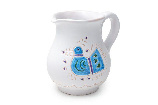 Linea Pavoncella Classica - Lattiera in ceramica