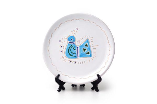 Linea Pavoncella Classica - Piatto da frutta in ceramica