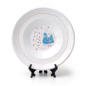 Linea Pavoncella Classica - Piatto fondo in ceramica
