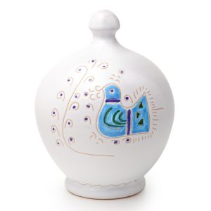 salvadanaio in ceramica Pavoncella Classica - Salvadanaio