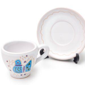 Linea Pavoncella Classica - Tazzina con piatto
