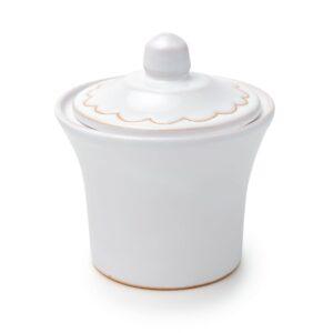 Linea Pavoncella Classica - Zuccheriera in ceramica